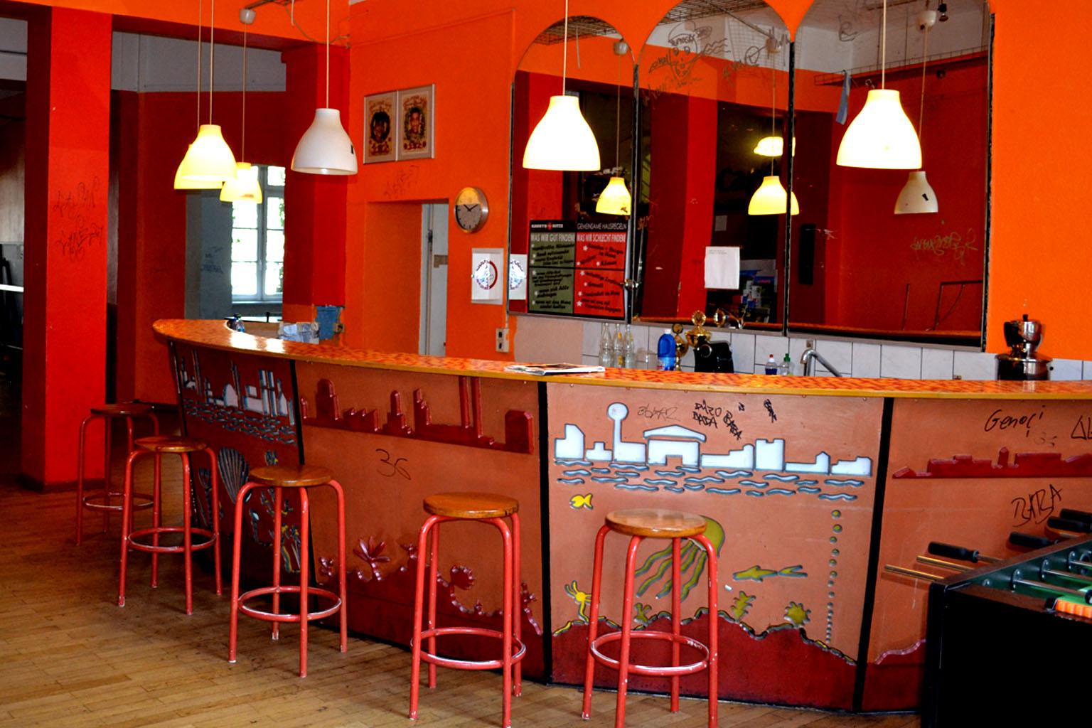 Jugendbereich Cafe